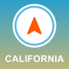 California, USA GPS - Offline Car Navigation